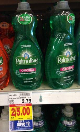 KROGER: Palmolive Dish Soap (25 oz.) ONLY $0.50 (reg. $2.79!) Great stock up deal!!