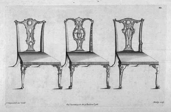 Chippendale chair plans 18th century pinterest for Queen anne furniture plans