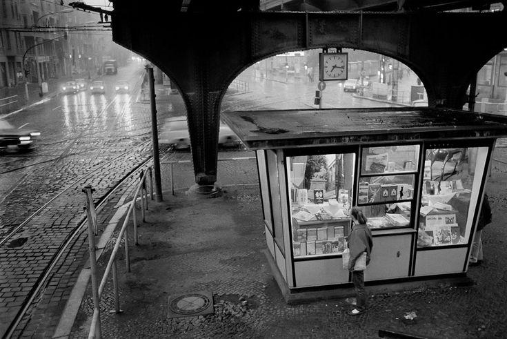 1977 Ost-Berlin - Prenzlauer Berg, Schönhauser Allee Ecke Dimitroffstraße (Foto: Rudi Meisel)
