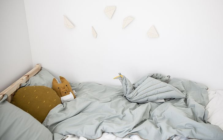What a beautiful range of colours! http://petitandsmall.com/fabelab-aw-17-collection-kids-room-decor/ #bedding #kidsroom