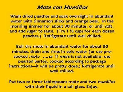Mote con Huesillos, Chile's favorite summer sweet (recipe)