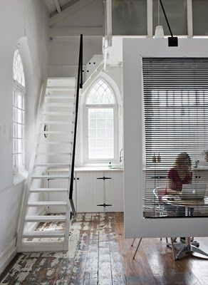 Stairs And Room Divider To Replace Spiral Staircase Tiny House Cottage In 2018 Pinterest Home Design