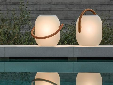 """Kokon: LED-Solarleuchte """"Ambient"""" von Gloster"""
