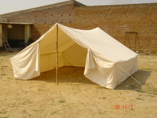 A white Refugee Tent used for relief purpose #relieftents #armytents #militarytents #tents #indiantents