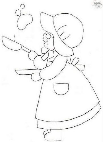 蘇婆婆壁飾紙型-韓國版 @ 滿不思議的手作 :: 痞客邦
