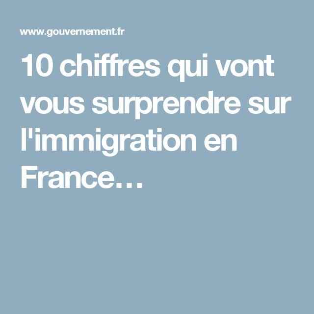 10 chiffres qui vont vous surprendre sur l'immigration en France…