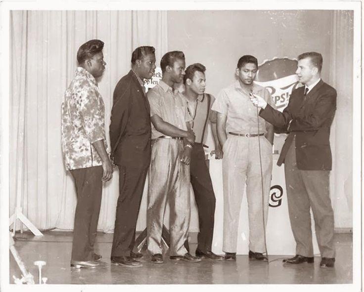 The Coasters en Arizona 1958 en la  Phoenix TV Station con Jack Curtis