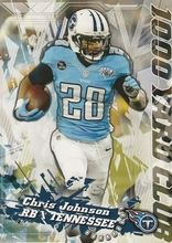 2014 Topps 1000 Yard Club #11 Chris Johnson, Tennessee Titans