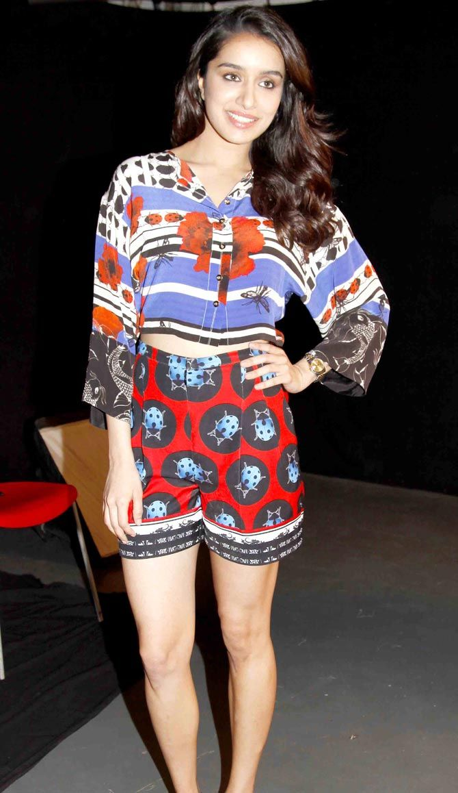 Shraddha Kapoor promoting 'ABCD 2' - #ABCD2.