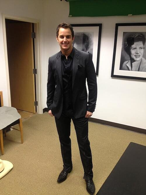 Easton Corbin looked dapper at the CMAs
