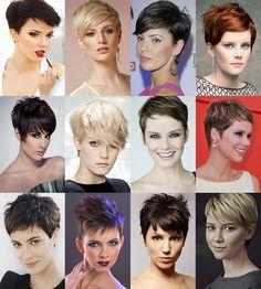 Kadın Kısa Saç Modelleri : Peri Saçı Kataloğu