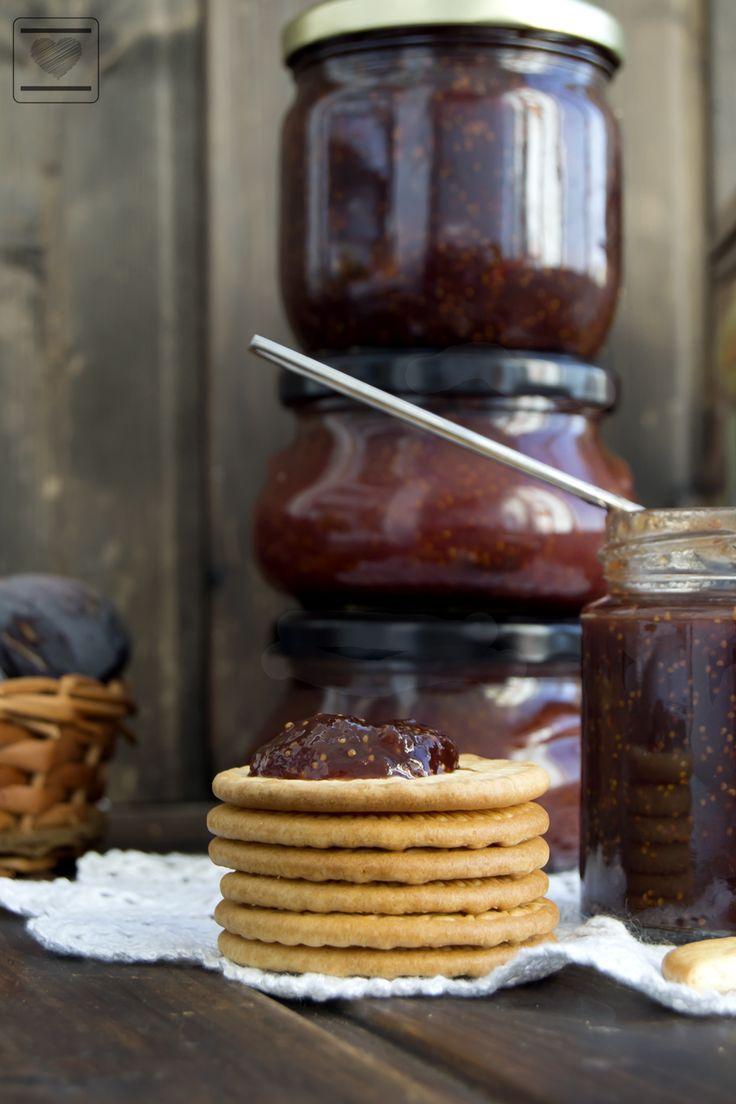 Mermelada de higos, clavo y canela. ~ Al Calor del horno