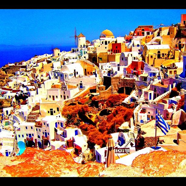 Who is ready to go to Santorini, Greece?! Let's go!