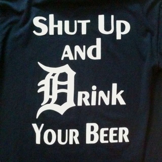 Detroit Tigers - Opening Day shirt :) Got to find this haha