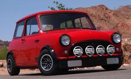 1967 Austin Mini Mk I racer