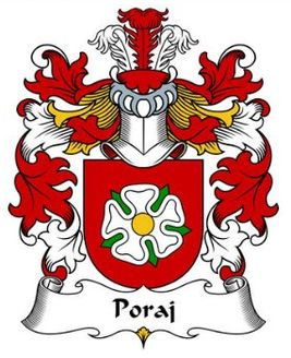 poraj family crest family crests pinterest family