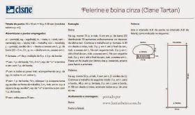 Boina e Pelerine em Tricô com receita e gráfico
