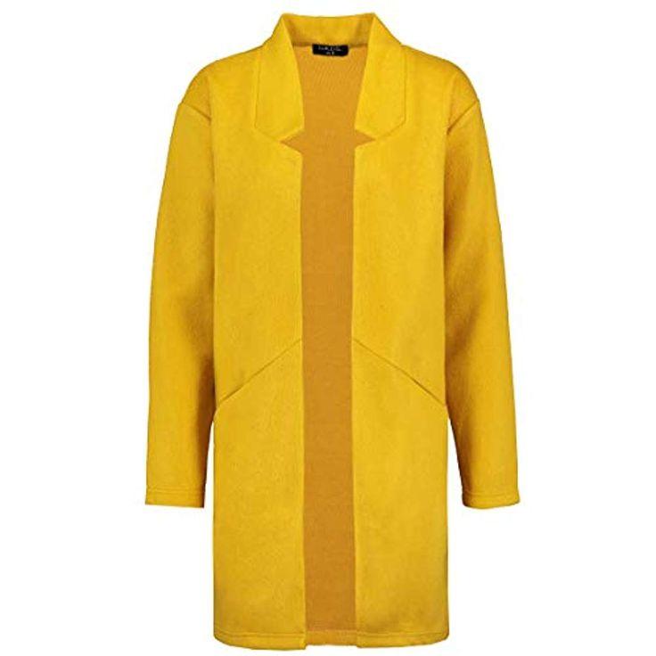 Sublevel Damen Mantel aus kuscheligem Sweat | Eleganter offener Mantel #Bekleidu…