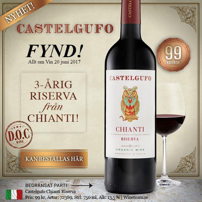 Castelgufo – årgångslagrad Chianti Riserva från Italien