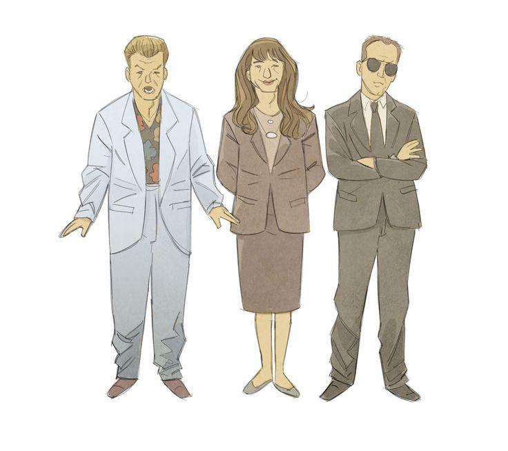 Twin Peaks agents