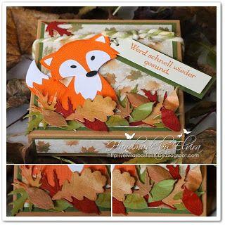 Herbstliche Verpackung