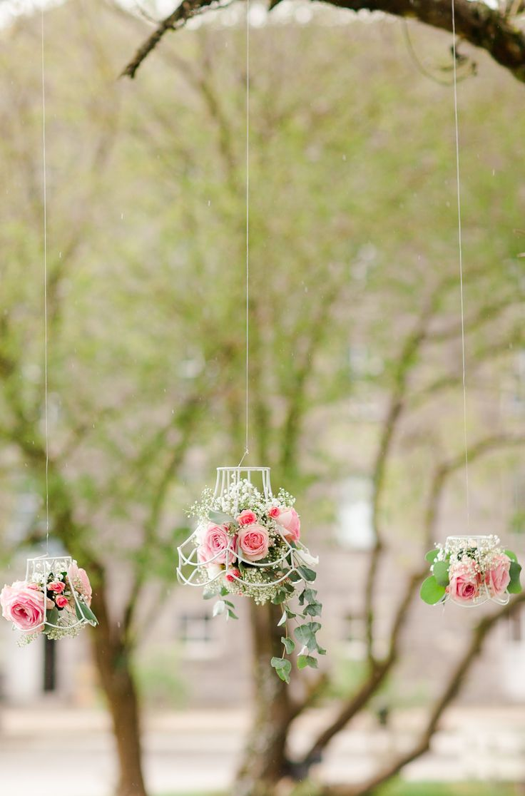 Wedding Table Suspended Overhead Decoration