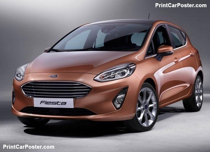 Ford Fiesta 2017 poster, #poster, #mousepad, #tshirt, #printcarposter