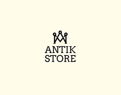 "Check out new work on my @Behance portfolio: ""Logo   Antik Store"" http://on.be.net/1VEJnUG"