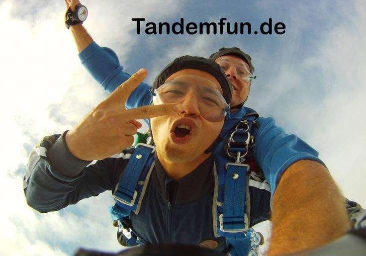 München Fallschirmspringen in Dingolfing mit Edi Engl
