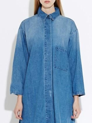 Waven - womens Sigvor denim shirt dress