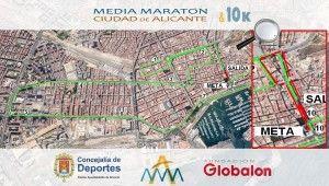 Postigo 'suaviza' el circuito de la Media Maratón de Alicante
