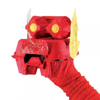 Egg Carton Chinese Dragon - Celebrate the Chinese zodiac by creating an egg carton dragon. This is a great activity for children of all ages and provides a great learning opportunity.