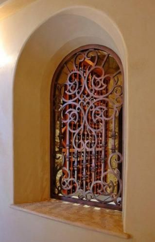 17 Best Images About Wrought Iron Niche Inserts On