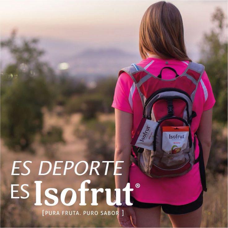 Treking, bicicleta, running y todos los deportes al aire libre serán más entretenidos y energéticos junto al mejor snack.   ¡Libera tus energías y activa tu cuerpo con #Isofrut!
