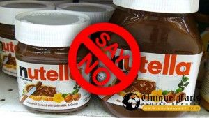 Say-No-Nutella---NOOOOOOooo, I love Nutella. Let's all call the company and beg them to make it with truly healthy ingredients. The phone number is on the back label! 1-800-NUTELLA.