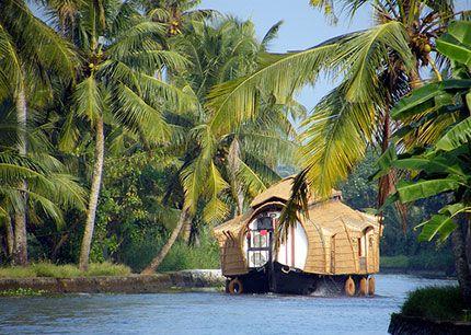 #Backwater, dove l'acqua ricama la terra #Kerala #India