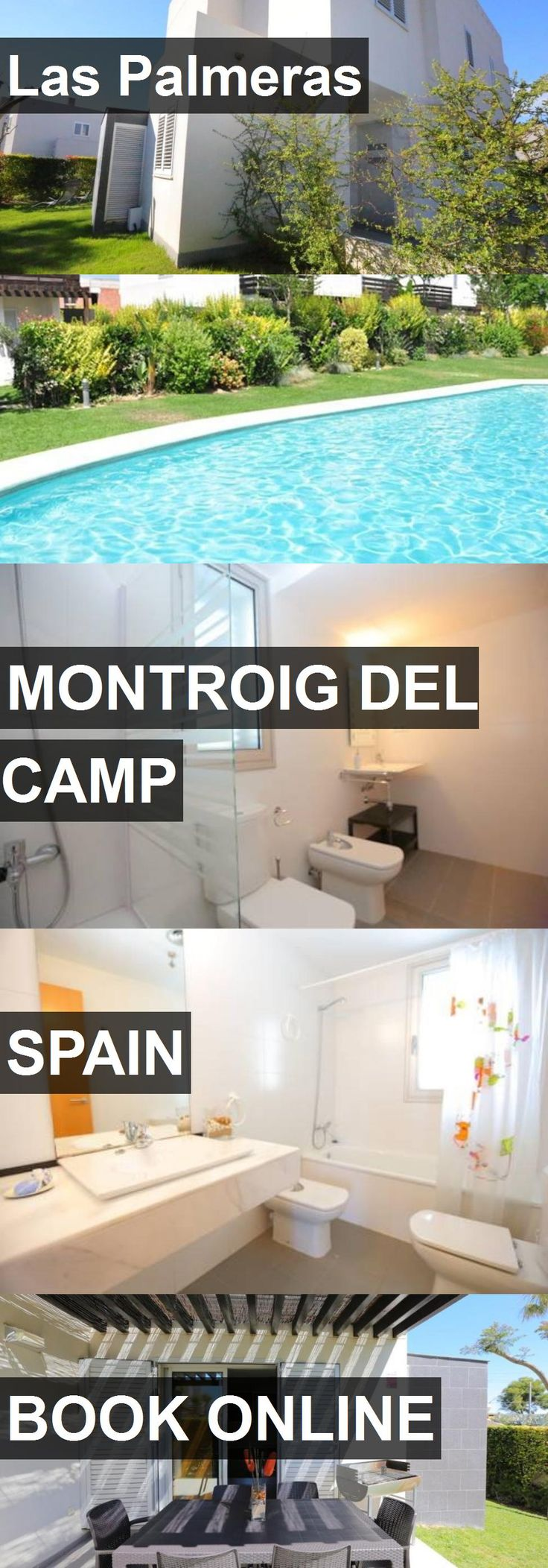 Hotel Las Palmeras in Montroig del Camp, Spain. For more information, photos, reviews and best prices please follow the link. #Spain #MontroigdelCamp #travel #vacation #hotel