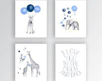 Zebra Canvas Art Baby Girl Nursery Art Animal by TheDaisyFields