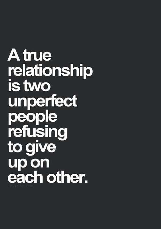 A true relationship