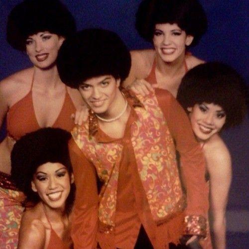 Bruno Mars & Family