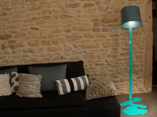 Unconventional Way to Add Color to Your Home: Oups Dripping Lamp
