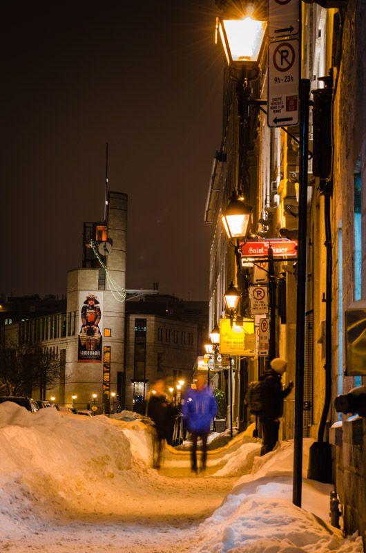 rue de la Commune - Montreal