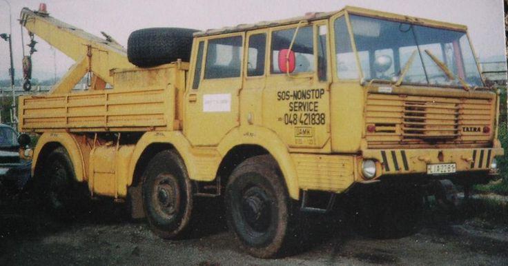 Tatra T813 6x6 wrecker truckCZ