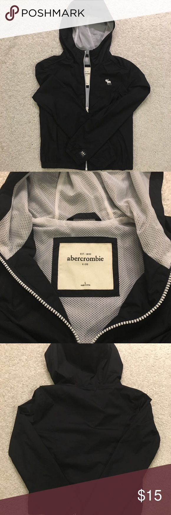 Abercrombie Kids Girls Large Windbreaker Abercrombie Kids Girls windbreaker. I bought it for my daughter and she may have worn it once. Great condition! abercrombie kids Jackets & Coats