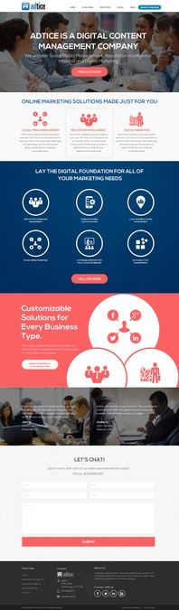 Digital Advertising Agency by dzineStylize