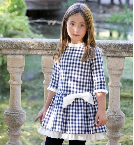 Vestido cuadros de Aiana Larocca | Aiana Larocca