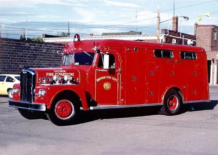 1959 Ward Lafrance Gerstenslager Heavy Rescue Squad