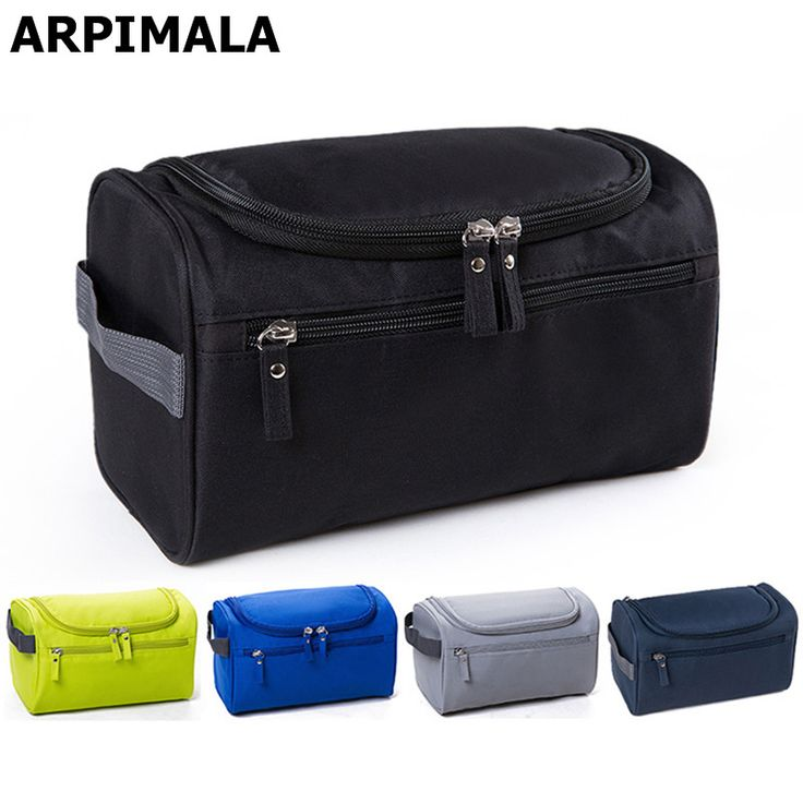 Waterproof Men Cosmetic Bag Hanging Makeup Bag Nylon Travel Organizer for Women Large Necessaries Make Up Case Wash Toiletry Bag