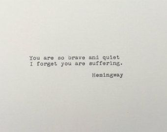 Custom Quote Typed on Vintage Typewriter by PaperHeartDaily