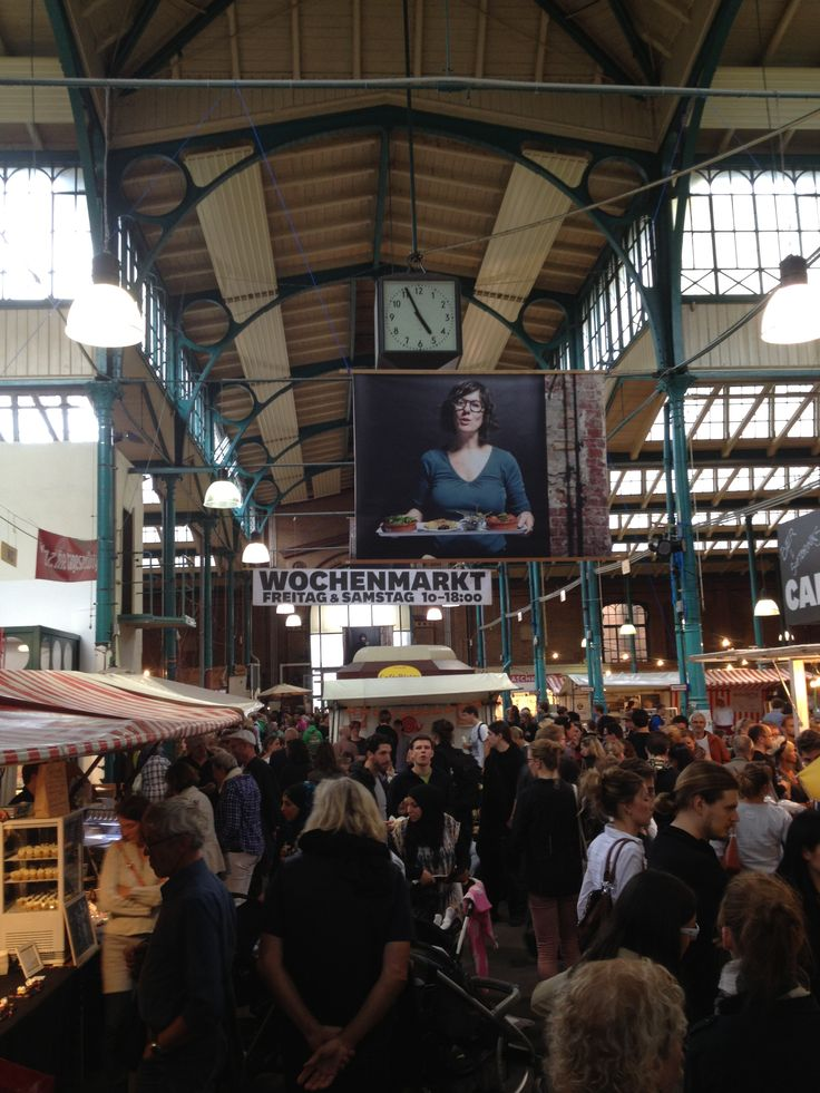 DAY 7 - Typical Berlin: Food market in Markthalle Neun (Today Naschmarkt = sweets galore!) #100daydesignchallenge